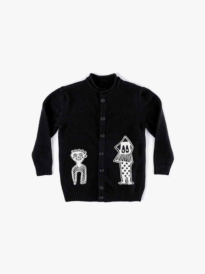 TRIBAL DANCERS KNIT CARDIGAN (kids) 20% sale