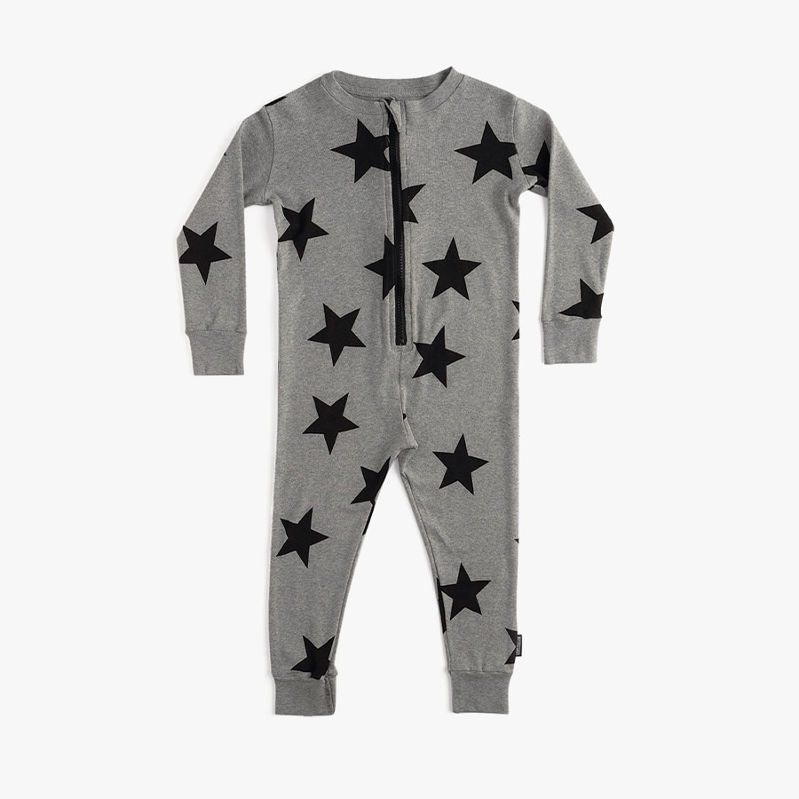 Star lounge zip overall (baby)