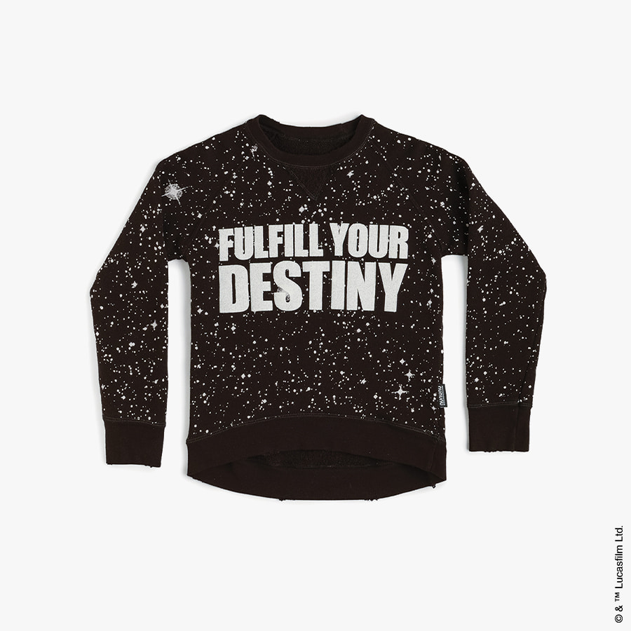 Galaxy sweatshirt (baby)